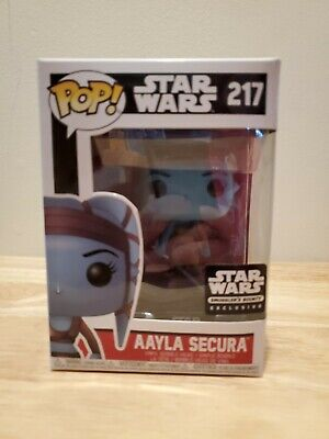 Funko Pop Star Wars Aayla Secura #217 Smugglers Bounty Exclusive
