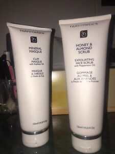 Nutrimetics skin care mineral masque clay & honey almond scrub NEW! Collingwood Yarra Area Preview