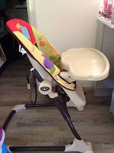 Adjustable High chair and free standing baby and toddler swing Holgate Gosford Area Preview
