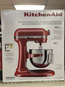 KitchenAid Professional Bowl-Lift Stand Mixer-5Qt - Empire Red