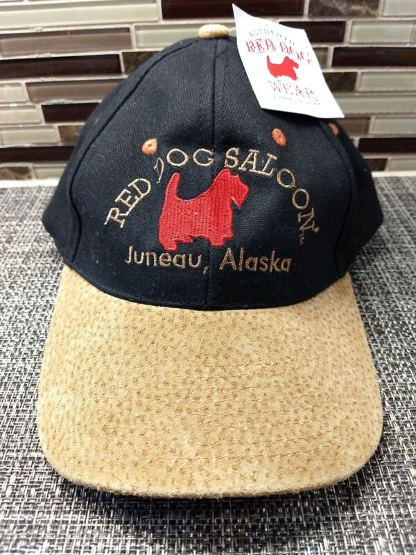 Alaska Red Dog Saloon Cap ,New, With Tags