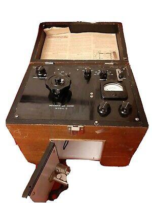 Beckman Ph Meter Model G Moncrief Army Hospital Glass Electrode Korean War Era