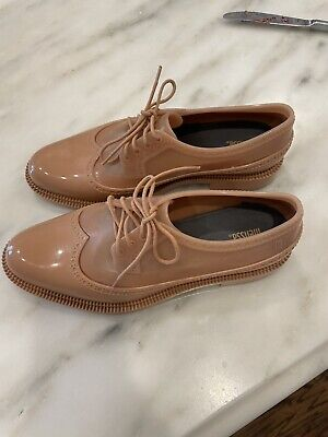 Melissa Jelly Shoes Oxfords Size 8