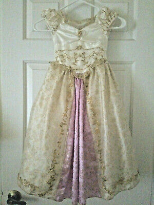 Tangled Wedding Dress Costume (Disney Store Tangled Rapunzel Wedding Dress Costume Size XS 4)