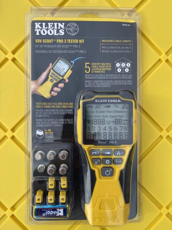 Klein Tools VDV501-851 VDV Scout Pro 3 Tester Kit