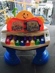 FISHER PRICE LAUGH & LEARN PIANO & CRAWL AROUND CAR Newstead Brisbane North East Preview