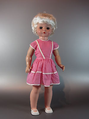 "Vintage Uneeda doll w/ original clothes 60s look Fashion rare 19"" Marilyn Blonde"