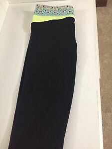 Ivivva boot cut tights - size 12