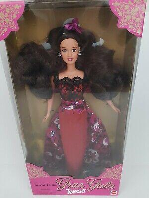Vtg Barbie SE Gran Gala Theresa Doll 1996 toys r us special edition NRFB