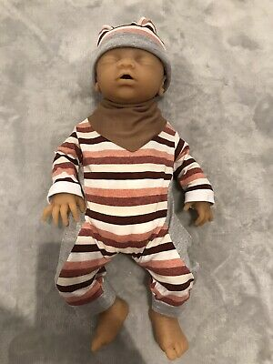 """18"""" Reborn Girl Doll Full Silcone Body, Full Dummy, Bathable, With Accessories"""
