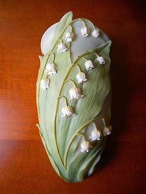 New Ibis & Orchid Designs Lily of the Valley Wall Vase Pocket