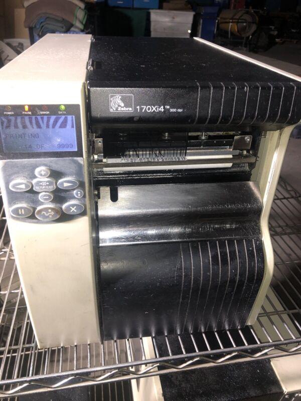 Zebra 170Xi4 (300dpi) Thermal Label Printer USB, LAN, 170-801-00000 Config