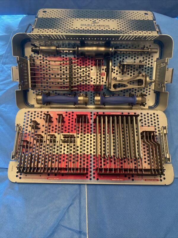 Shukla Medical Blade Kit, Flexible Osteotome Set, S9BLADE, Universal Extraction