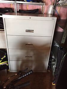 Four Drawer Filing cabinet