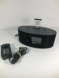 iHome iDL46 Dual Charging Stereo FM Clock Radio w/ Lightning Dock Play IPhone