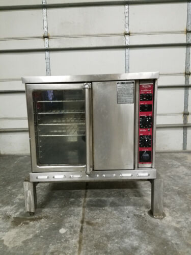 DCS Professional Full Size Convection Oven natural Gas Stand No Tag Tested