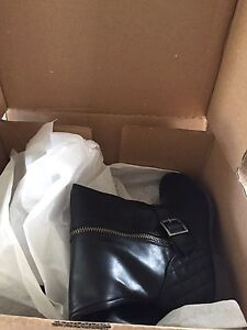Material Girl Wide Calf Boots Size 9