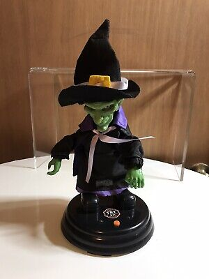 """Gemmy Animated Grave Ravers Witch """"Gimme More"""" Halloween Prop"""