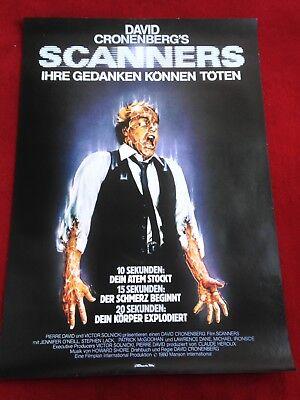 Scanners Kinoplakat Poster A1, David Cronenberg, Michael Ironside, O'Neill gebraucht kaufen  Waldsassen
