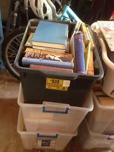 Boxes of books Templestowe Manningham Area Preview