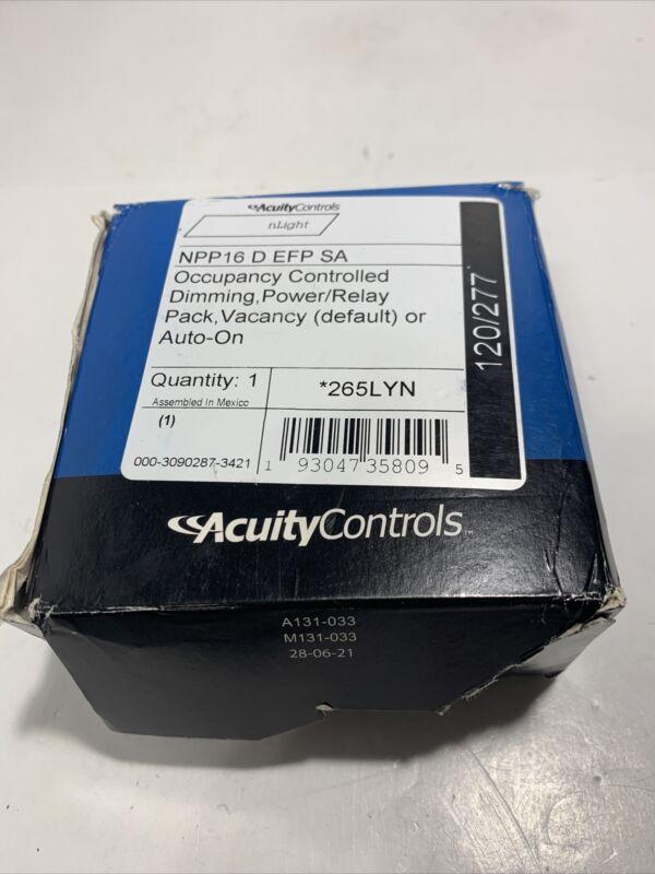 Acuity Controls NPP16 D EFP SA nLight Power/Relay Pack 120-277 VAC