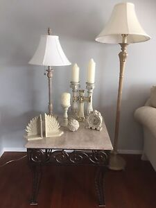 Various Greek-Style Home Decor Items