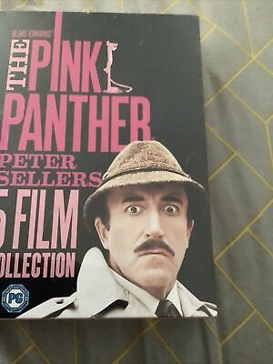 1 Dvd Box Set The Pink Panther Peter Sellers 5 Film Collection
