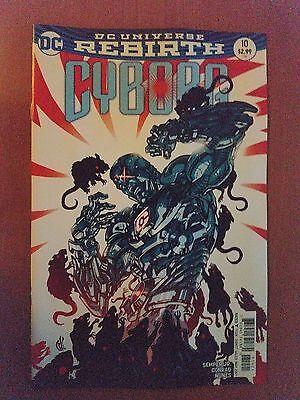 DC Universe Rebirth Cyborg # 10 (1st Print) Variant