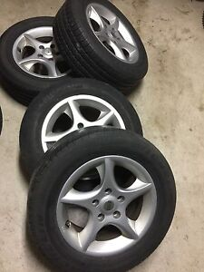 Rims with tires $150