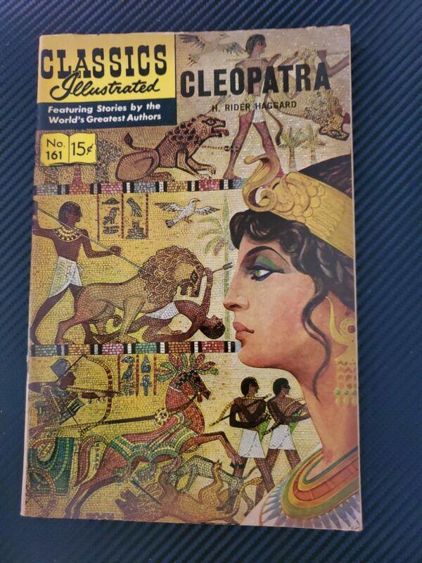 Classics Illustrated 161: Cleopatra comic (1964)