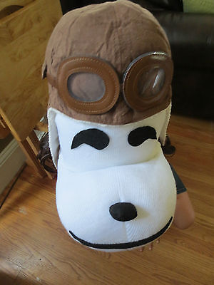 ~*~FLYING ACE AVIATOR SNOOPY COSTUME~*~ CHARLIE BROWN SANTA SNOOPY ](Ace Costume)