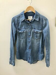 Forever 21 denim woman's shirt, size M