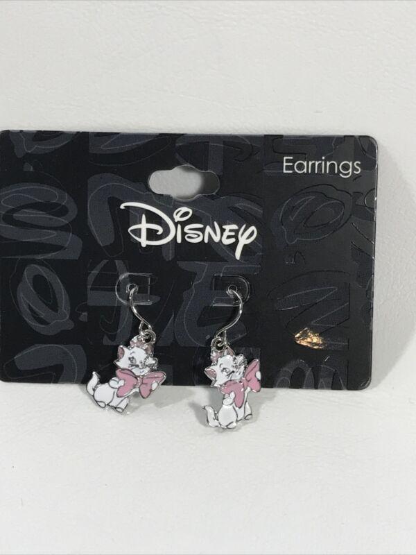 New Disney Aristocats Marie Drop Earrings