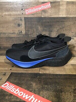 Nike Moon Racer QS Blue Black Men Running Casual Shoes Sneakers BV7779-001 Sz 14 (Moon Shoes Adults)