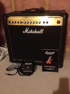 Marshall AVT50 amp with foot switch! Mint!