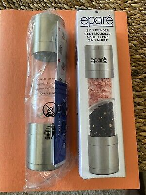 Epare 2 in 1 Salt and Pepper Grinder New In (2 In 1 Salt & Pepper Grinder)