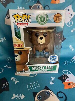 Funko Pop Ad Icons Smokey The Bear with Bucket #76 Funko Shop Ex