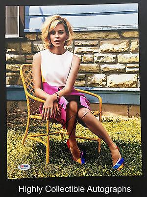 Elizabeth Banks Signed 11X14 Photo Autograph Psa Dna Coa
