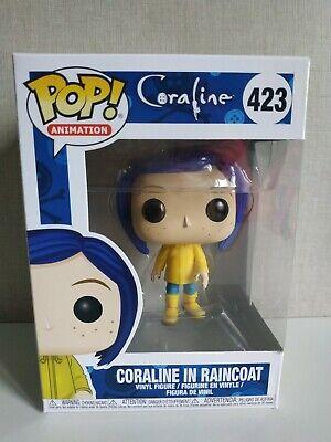 Funko Pop Coraline un yellow raincoat # 423 Pop Animation -Ver Fotos