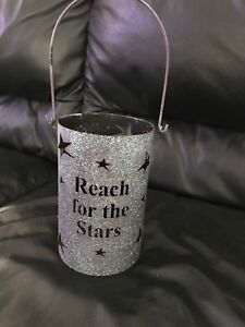 Reach for the stars candle holder