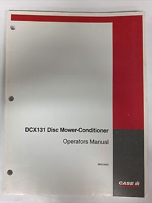 Case Ih Operators Manual -- Dcx131 Disc Mower-conditioner