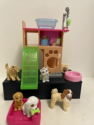 """Mattel Barbie """"Puppy Playtime!"""" with Grooming Supplies and Extra Pets!"""