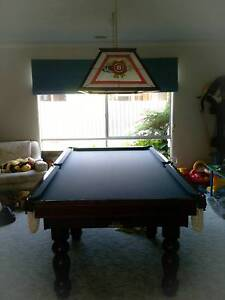 Mahogany Billiard Table & matching Jim Beam light Patterson Lakes Kingston Area Preview