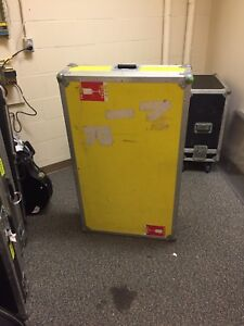 Double guitar flight case
