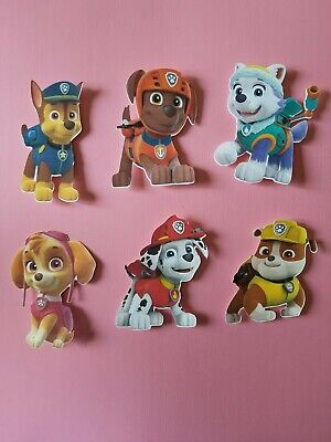 Paw Patrol Decorations (6 Paw Patrol Party Favor)