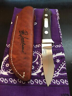 R.W. LOVELESS KNIFE MAKER DROP POINT HUNTER-LOADED-SIGNED SHEATH-MINT!