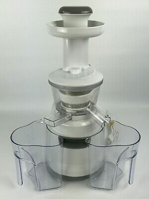 Porvita Juicer WJ100 Slow Masticating Juicer Fruits & Vegetables - Gently (Best Slow Masticating Juicer)