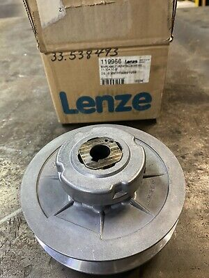 New Lenze 11.104.10.61 1199966 Variable Speed Pulley 18mm Bore 155mm Od Bobst