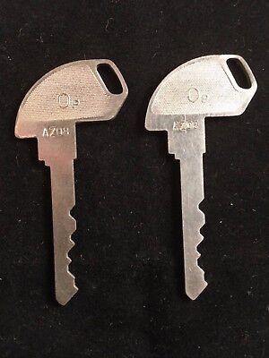 Tec Cash Register Op Key Az08 Set Of 2