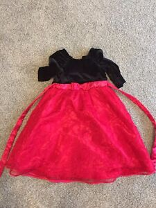 Size 5t red dress